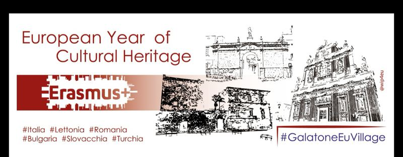 Erasmus+EUROPEAN YEAR OF CULTURAL HERITAGE.